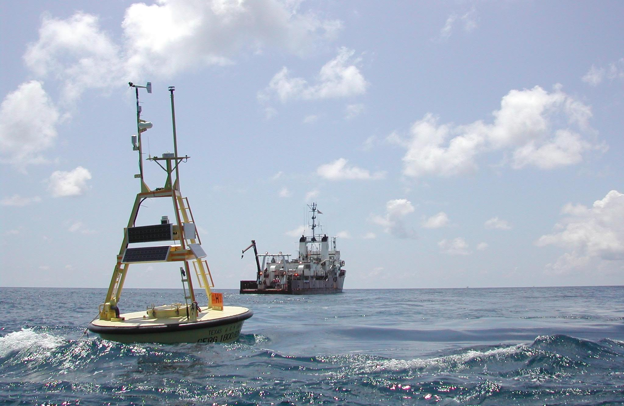 TABS buoy after deployment